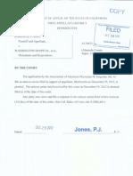 AAPS Amicus Brief in Rao v. Washington Hospital