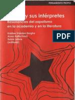 Varios-autores,el EZLN y sus intérpretes, resonancias del zapatismo en la academia y en la literatura