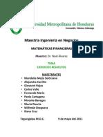 UMH - Proyecto Matematicas Empresariales