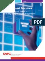SAFC Biosciences - Development Services