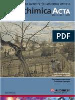 Novel Reagents and Catalysts for Facilitating Synthesis - Aldrichimica Acta Vol. 38 No. 1