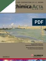 Advanced Borane Chemistry - Aldrichimica Acta Vol. 38 No. 2