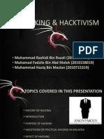 Hacking & Hacktivism