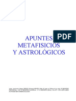 Apuntes Metafisicos Astrologicos