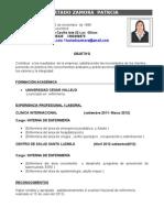 Hurtado Zamora Patricia c.V