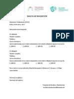Boleta de Inscripción (I-13)