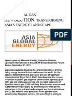 GLOBAL ASIA ENERGY-The natural gas revolution