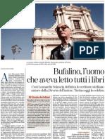 Gesualdo Bufalino, l'uomo che aveva letto tutti i libri - La Stampa 29.01.2013