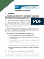 gestionarea documentelor electronice
