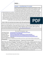 PLP personal learning plans (examples)