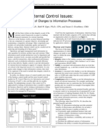 Changes to Information Processes