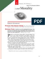 Creation and Morality