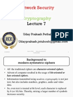 Network Security & Cryptography lecture 7