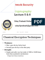 Network Security & Cryptography lecture 5 & 6
