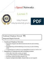High Speed Networks lecture 5