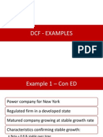 Corporate Valuation - DCF Examples
