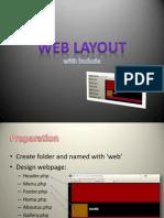 Membuat menu dengan PHP Include