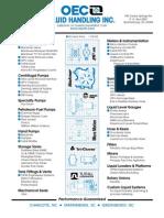 Pump Global Gear Service Manual