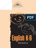 NSW BOS English Modules K-6