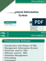 proposal of HBL
