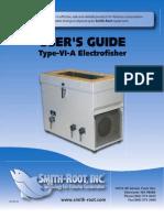 electrofisher user manual