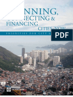 Planning, Connecting, and Financing Cities-Now