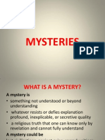 World's mysteries