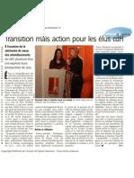Vers l'Avenir - Transition mais action pour les élus cdH