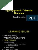 hiperglikemic crisis in diabetes