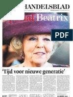 Troonsafstand Beatrix