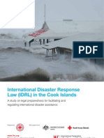 International Disaster Response Law in the Cook Islands