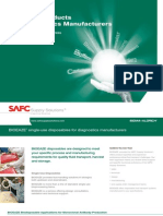 SAFC Supply Solutions -Standard Products For Diagnostics Manufacturers