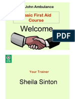 Wshop 10 - First Aid - Sheila Sinton
