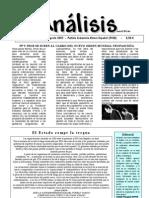 ANALISIS  Nro.  01 Agosto 2007