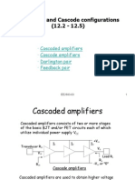 Cascade and Cascode configurations