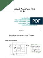 Feedback Amplifiers