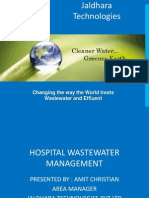 Hospital Wastewater Management