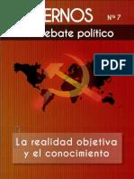 Cuadernos para el debate - Nº7 - La realidad objetiva