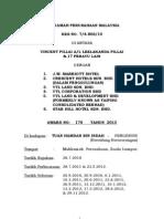 KES NO. 7/4-806/10 DI ANTARA VINCENT PILLAI A/L LEELAKANDA PILLAI & 17 PERAYU LAIN DENGAN 1. J.W. MARRIOTT HOTEL 2. CRESCENT HOTELS SDN. BHD. (DALAM PENGGULUNGAN) 3. YTL LAND SDN. BHD. 4. YTL CORPORATION BHD 5. YTL LAND & DEVELOPMENT BHD (FORMERLY KNOWN AS TAIPING CONSOLIDATED BERHAD) 6. STAR HILL HOTEL SDN. BHD.