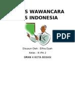 wawancara indonesia