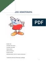 enfermeria hemoterapia