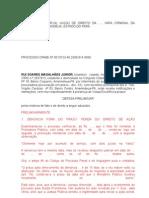 Rui Soares Magalhães Junior x Ministério Público