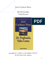 José Cardoso Pires - De Profundis