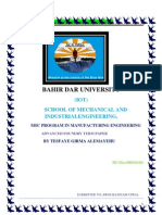 manufacturing engineering term paper