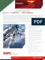 SAFC Pharma - Jerusalem - Fermentation Derived High-Potent APIs
