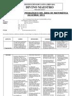 Informe tcnico pedaggico 2011