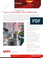 SAFC Pharma - High-Potent APIs and Cytotoxics
