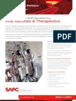 SAFC Pharma - Viral Vaccines & Therapeutics