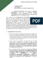 PeticiÓn IntervenciÓn Inc - Iglesia Stma. Cruz de Barranco