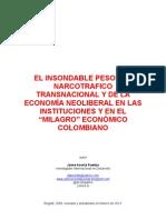 """NARCOTRÁFICO y MODELO ECONÓMICO GLOBAL EN LAS INSTITUCIONES Y EN EL """"MILAGRO"""" ECONÓMICO COLOMBIANO"""